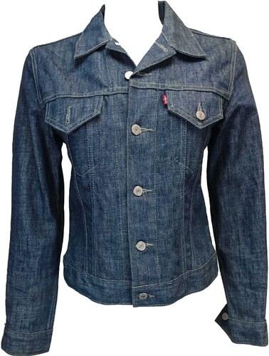 LEVIS dámská modrá jeans bunda - Glami.cz ae15eb237b3