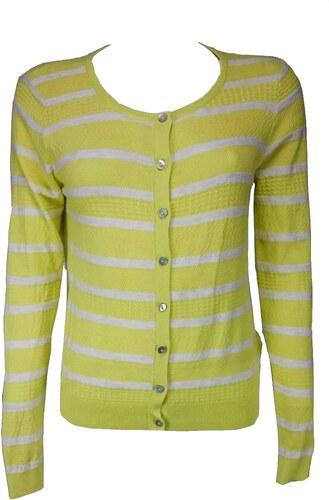 NEXT dámský žlutý pruhovaný svetr - Glami.cz af048ff470