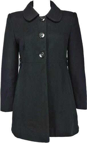 GEORGE dámský černý kabát - Glami.cz b57582b3a5