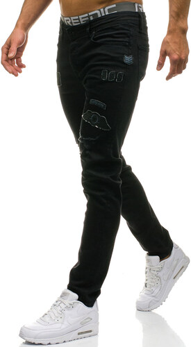 2d318eaaeee Černé pánské džíny Bolf 374 - Glami.cz
