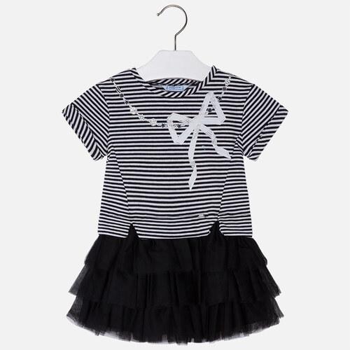 776fbb779df MAYORAL dívčí šaty s tylovou sukní - černé - Glami.cz