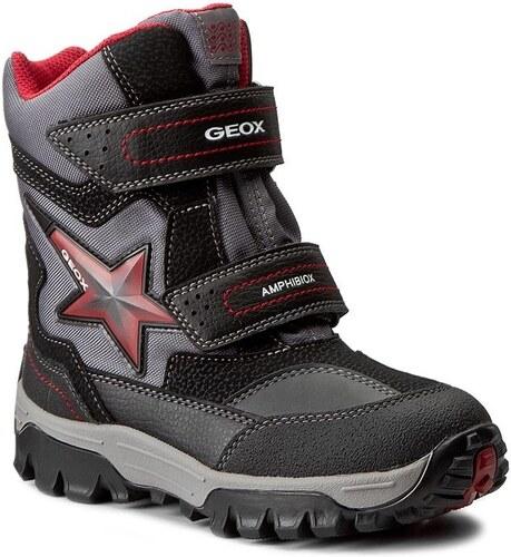 Geox Chlapčenské zimné topánky Himalaya - čierne - Glami.sk 3a687ccb034