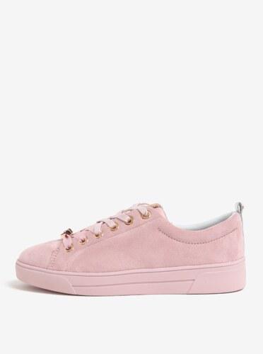 Ružové semišové tenisky Ted Baker Kellei S - Glami.sk b259e45c01c