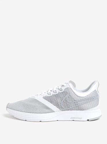 Sivo-biele pánske tenisky Nike Zoom Strike Running - Glami.sk 3e1d84faa2f