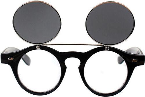 Sunmania vyklápacie okuliare Lenonky 257 čierne - Glami.sk 1570c5bcc70