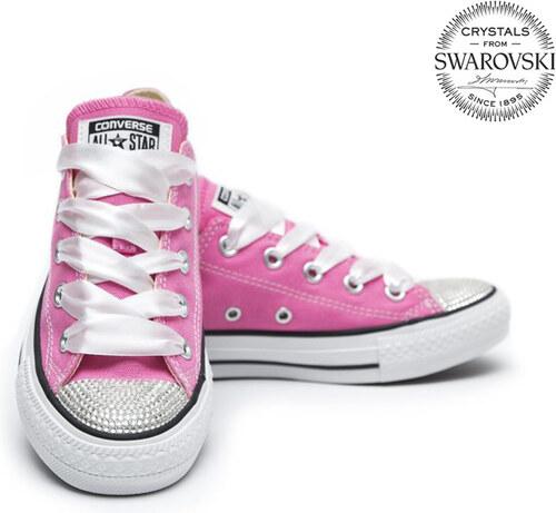 Converse Swarovski Pink Low - Glami.sk c9ff6806993