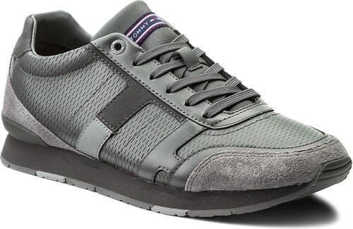 f062adc66 Sneakersy TOMMY HILFIGER - Leeds 2C1 FM0FM01443 Steel Grey/Light Grey/Magnet  904