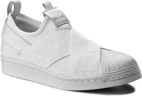 Cipő adidas - Superstar SlipOn W CQ2381 Ftwwht Ftwwht Cblack - Glami.hu c9ec643d3f