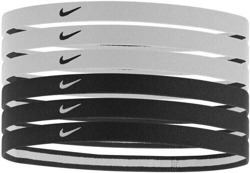 Dámská čelenka Nike SWOOSH SPORT HEADBANDS 6P BLACK WHITE - Glami.cz 5bf32237ca