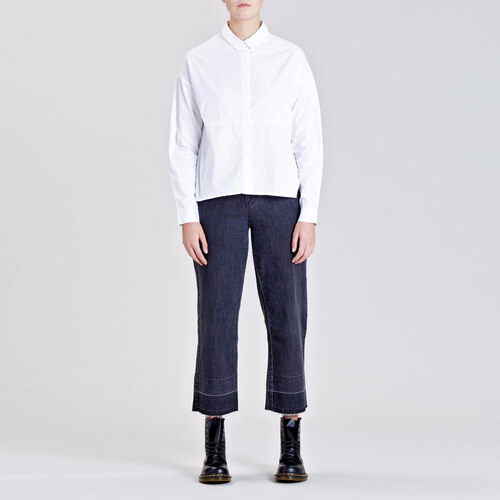 353329ea56c NATIVE YOUTH Bílá košile Emanate XS - Glami.cz