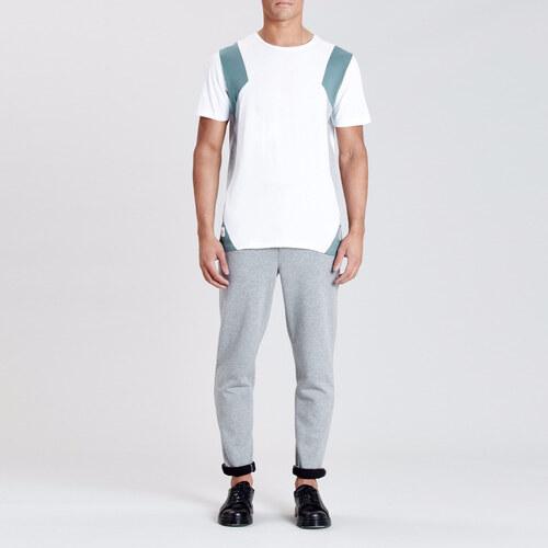 9ff4acd4397 NATIVE YOUTH Bílé tričko Delaware M - Glami.cz
