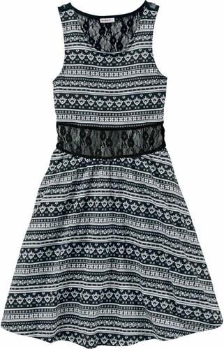 Petite Fleur Kids Šaty černá   bílá - Glami.cz c1e1d5472a