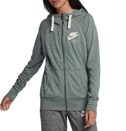 Mikina s kapucňou Nike W NSW GYM VNTG HOODIE FZ 883729-365 velikost ... eb4eb1311e2
