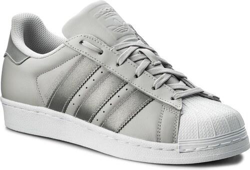 Topánky adidas - Superstar J CQ2689 Lgsogr Silvmt Ftwwht - Glami.sk 5034e53281