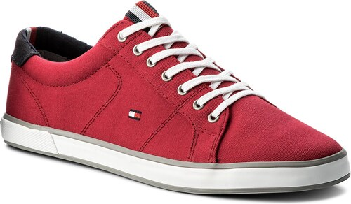 Tenisky TOMMY HILFIGER - Iconic Long Lace Sneaker FM0FM01536 Tango Red 611 f1a797601a8