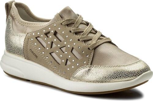Sneakersy GEOX - Ira B D821CB 015QD CH62L Lt Taupe Lt Gold - Glami.cz 0cbb5a6ca5