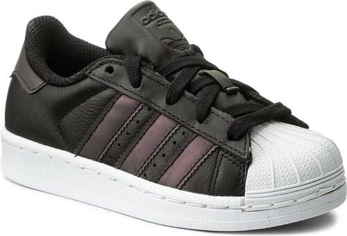 Cipő adidas - Superstar C CQ2721 Cblack Cblack Ftwwht - Glami.hu 29bbb1930f
