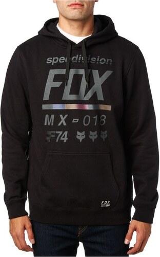 Fox Mikiny Pánská mikina District 2 Pullover Fleece Black Fox - Glami.cz a1fd3e6b97