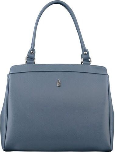 Luxusní moderné hezké kožené kabelky modré Alexandra 31209 CE30 LY30  Wojewodzic aefdcff632e