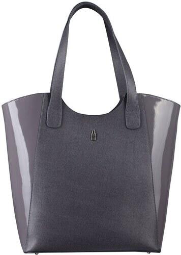 Luxusní značkové kabelky na rameno šedé 31707 K EA23 PL23 Wojewodzic ... e9797b7875b