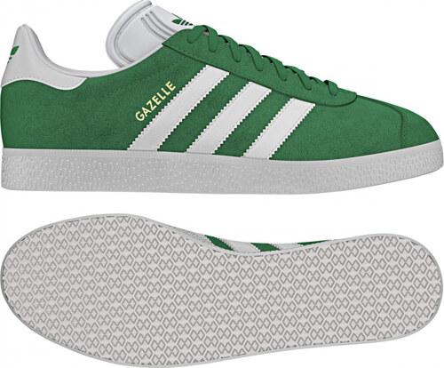 a48457c61 Pánske tenisky adidas Originals GAZELLE (Zelená / Biela / Zlatá ...