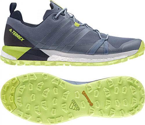 Pánske outdoorové topánky adidas Performance TERREX AGRAVIC (Šedá   Tmavo  modrá) 6628b3c4494