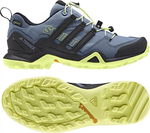 5b1f7b3ad187 Dámske outdoorové topánky adidas Performance TERREX SWIFT R2 GTX W (Šedá    Čierna   Žltá