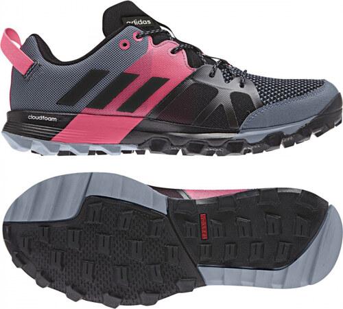7aaf952c63 Dámske bežecké topánky adidas Performance kanadia 8.1 tr w (Šedá   Biela)