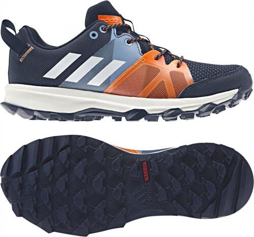 Nové Detské bežecké topánky adidas Performance kanadia 8.1 k (Tmavo modrá    Biela   Modrá) f889fd79884