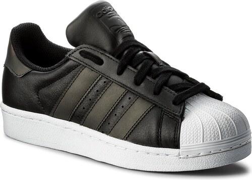 1ea0dc4e12 Cipő adidas - Superstar J CQ2688 Cblack/Cblack/Ftwwht - Glami.hu