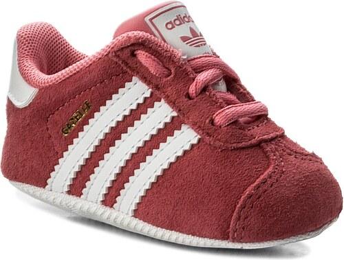 4a4711785da Boty adidas - Gazelle Crib CM8228 Chapnk Ftwwht Ftwwht - Glami.cz