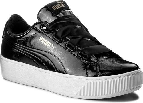 Sneakersy PUMA - Vikky Platform Ribbon P 366419 01 Puma Black Puma Black 5647086a7a6