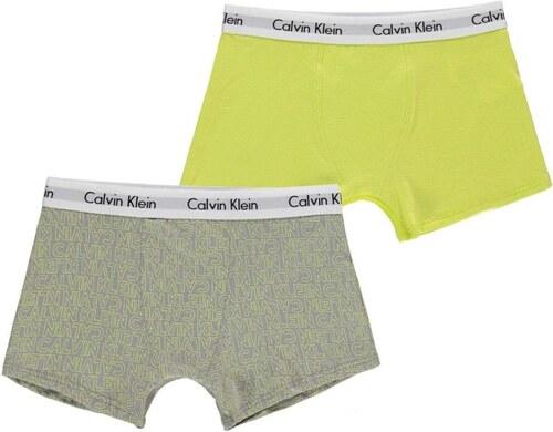 6049a9504b Calvin Klein 2 Pack Trunks Junior Boys - Glami.cz