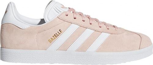 56d1b9e723c Tenisky adidas Originals GAZELLE (Ružová   Biela   Zlatá) - Glami.sk