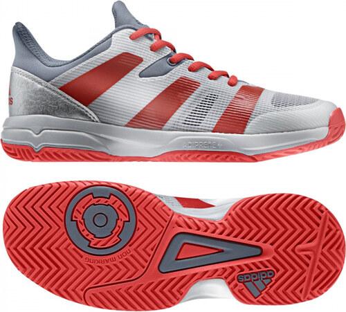 bd5e8e25029 Sálové boty adidas Performance STABIL X JR (Šedá   Červená   Stříbrná)