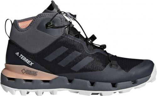 68b5f8974513 Dámske členkové topánky adidas Performance TERREX FAST MID GTX-SURROUND W ( Čierna   Šedá