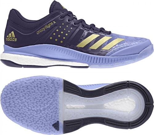 c5b3bfc1471 Sálové boty adidas Performance crazyflight X W (Fialová) - Glami.cz