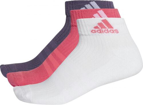 Ponožky adidas Performance 3S Per An HC 3 PÁRY (Ružová   Biela ... 8a4cdb3cae