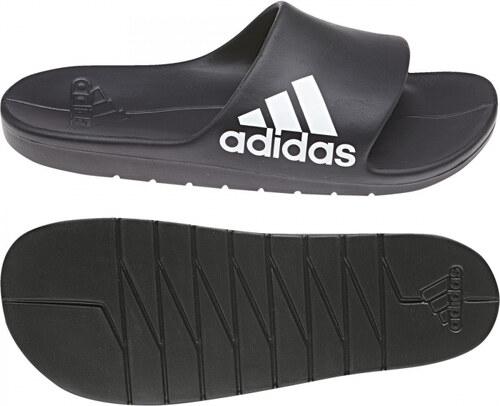 Pánské pantofle adidas Performance AQUALETTE CLOUDFOAM (Černá   Bílá ... 13ecf5f736