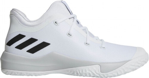 44d5cdc3c699 Pánske basketbalové topánky adidas Performance Rise Up 2 (Biela   Šedá    Čierna)