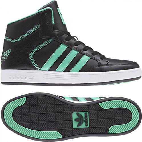 the latest e84cb 06042 -50% Pánske členkové topánky adidas Originals VARIAL MID (Čierna  Zelená   Biela)