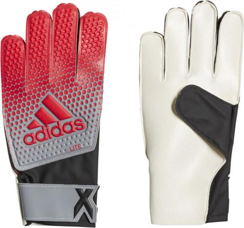 Brankářské rukavice adidas Performance X LITE (Černá   Červená ... fb2b306edf