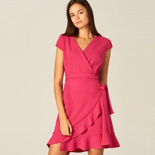 Mohito - Átlapolt ruha - Rózsaszín - Glami.hu 57b7df40b6