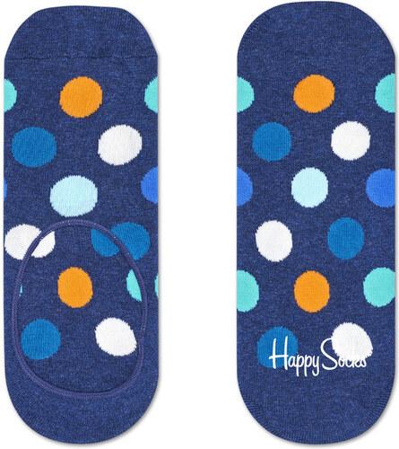 89d6332795d Happy Socks modré nízké ponožky do tenisek Big Dots - 36-40 - Glami.cz