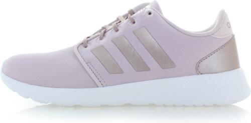 adidas CORE Dámské světle růžové tenisky Cloudfoam QT Racer - Glami.cz 6b6c2d25c8e