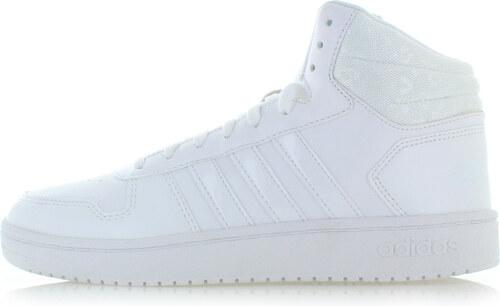 b90ccf5d57a7 adidas CORE Dámske biele členkové tenisky Hoops Mid 2.0 - Glami.sk