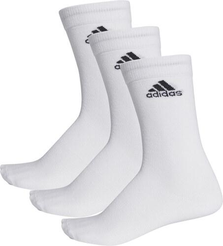 f1fb9eb54f8 adidas PERFORMANCE Bílé ponožky Per Crew T 3PP - 3pack - Glami.cz
