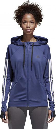 Dámska mikina adidas Performance Perf FZ Hoody (Tmavo modrá) - Glami.sk 01d9183622