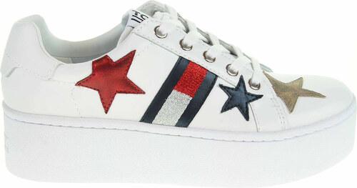 322131442 Tommy Hilfiger dámská obuv EN0EN00160 white EN0EN00160 100 - Glami.cz