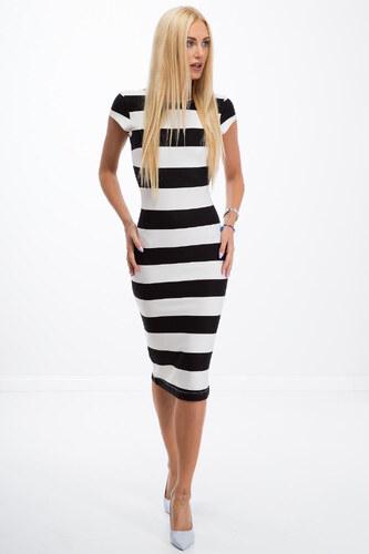 eb737d4ff5 Amando Čierno-biele pásikavé šaty - Glami.sk